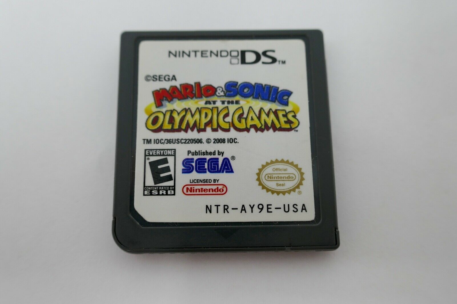 Mario & Sonic at the Olympic Games (Nintendo DS, 2008) CARTRIDGE ONLY