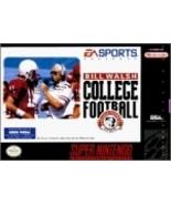 Super Nintendo Bill Walsh College Football - $79.99