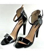 Womens Heels Black Strappy High Heels Slim Casual Summer Sexy Stiletto 8... - $24.74
