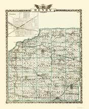 Henry County Illinois  - Warner 1870 - 23.00 x 28.05 - $36.58+