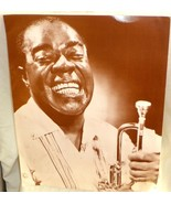 "Louis Armstrong Publicity Print Signed To Mike A Good Friend Satch 11"" x... - $366.12"