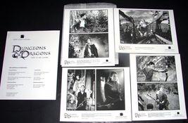 2000 DUNGEONS & DRAGONS Movie PRESS KIT Handbook 8x10 Photos NEW LINE - $22.99