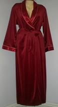 NEW Designer ETIENNA Velvet Wrap Robe with Satin Collar-NWT - $84.15