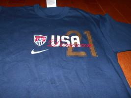 5e45433c1 NIKE USA SOCCER Landon Donovan  21 Player Jersey T-Shirt Mens Size Small  Olympic