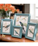 4pcs/set Blue Europe style Frame on Table Home Decoration Photo Picture ... - $50.00
