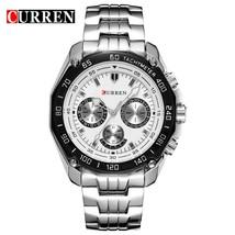 Curren  Fashion Watch Men Casual waterproof Military Army Wristwatch relojes hom - $42.63