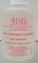 ARDELL ~ LashTite For Individual Lashes ~ Clear Adhesive ~ 0.75 fl. oz. ... - $6.39