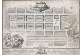 New Town, Edinburgh, Scotland; First Plan of New Town; 1768 James Craig Map - $26.72+
