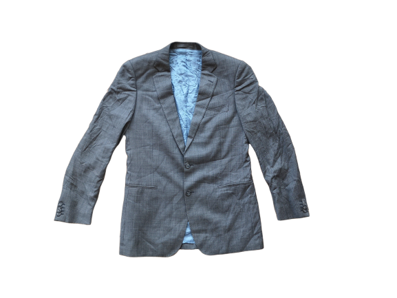 Primary image for CAVALLARO NAPOLI blazer size m COTTON grey