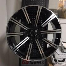 "20"" PRESTIGE STYLE BLACK WHEELS RIMS FITS AUDI VW TIGUAN Q5 5x112 5 LUG - $841.49"