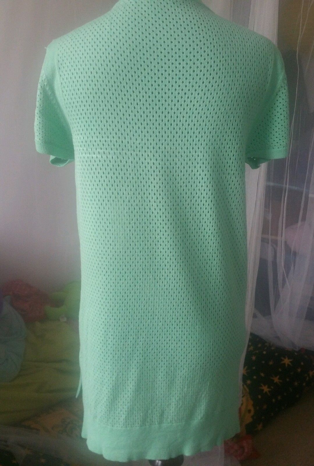 Walter Baker Green Knit Top Short Sleeves  Size M