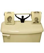 Fairly Odd Novelties Bill and Hillary Clinton Toilet Paper W/ Strong Man... - €15,17 EUR