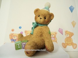 Cherished Teddies Birthday Bear Age 10  1998 No Reg #  NIB - $42.52