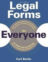 Legal Forms for Everyone-Book & CD ROM - $13.50