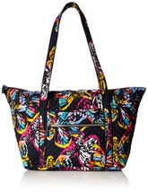 Vera Bradley Iconic Miller Travel Bag, Signature Cotton, Butterfly Flutter - $125.61