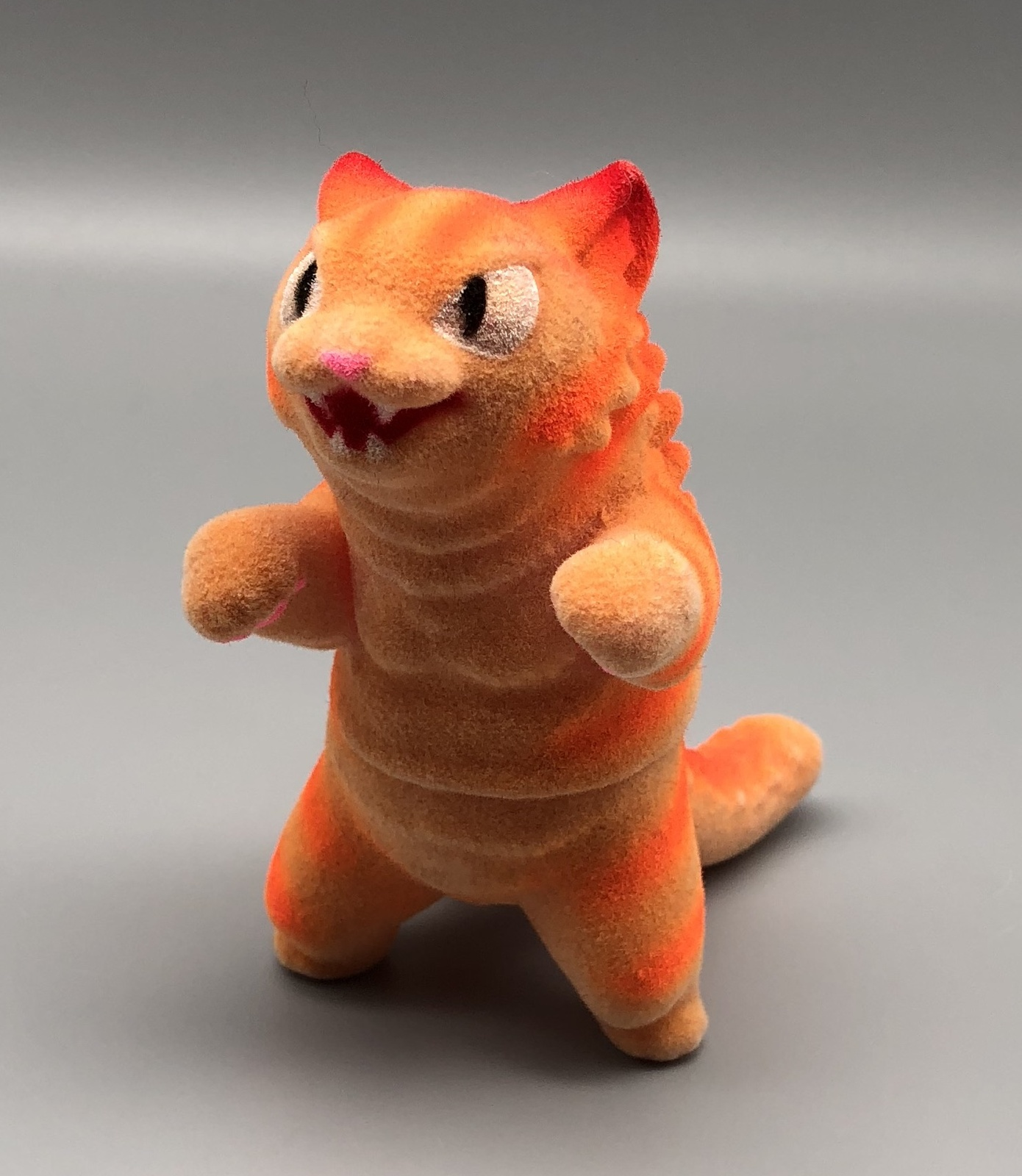 Max Toy Orange-Striped Flocked Negora