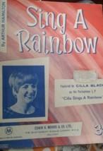 "Cilla Black ""Sing A Rainbow"" sheet music - $6.51"