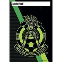 Mexico Seleccion Nacional Soccer Football Team Party BAgs Loots 8PC Supp... - $5.89