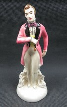 Antique German porcelain figurine Gentleman Elegant  - $90.00