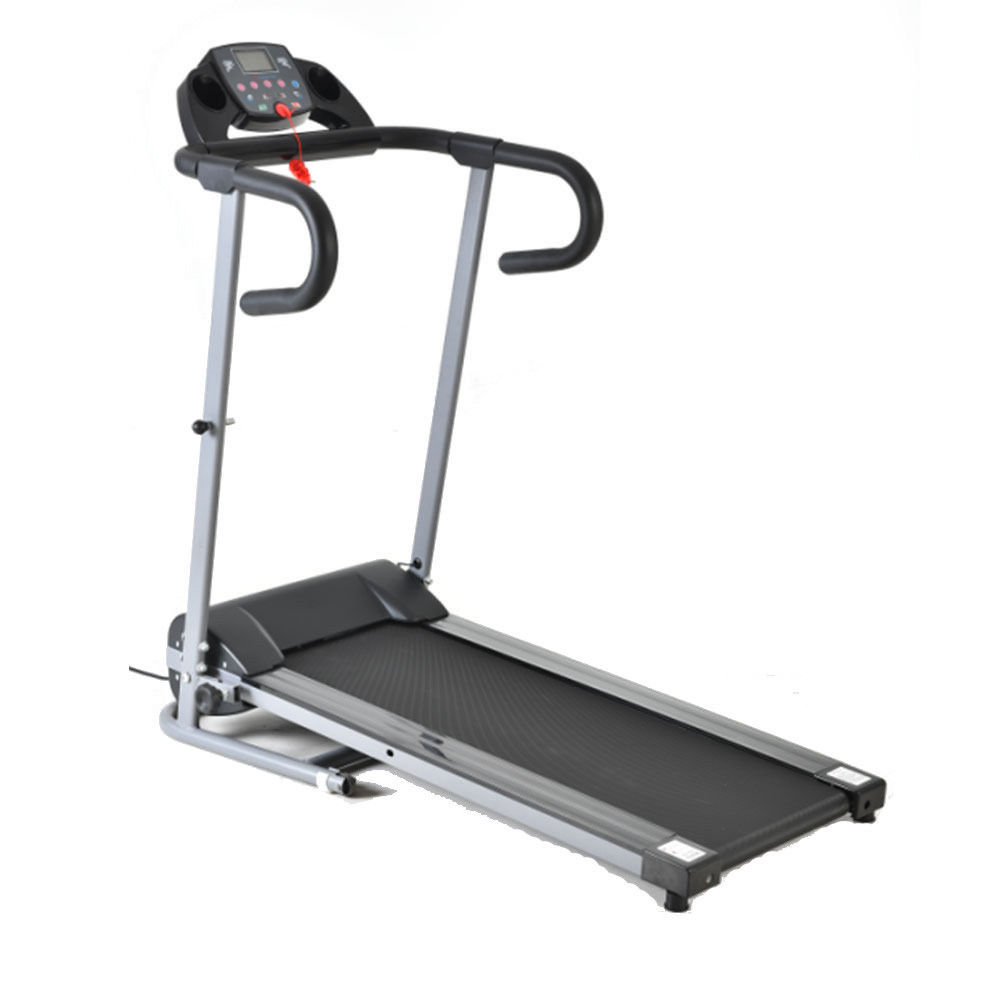 Fitness Electric Treadmill Exercise Equipment Folding Running Machine 600W Black