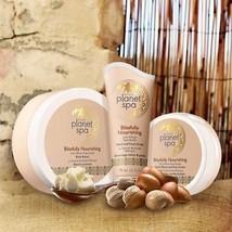 Avon Blissfully Nourishing Set 3 pcs Body Butter + Hand Foot Scrub + Elb... - $19.99