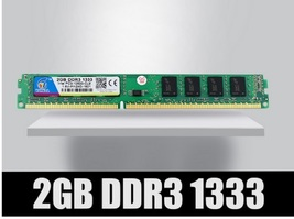 DDR3 2GB 1333Mhz memory ram ddr 3 1333 pc3-10600 dimm ram for AMD and Intel - $43.99+
