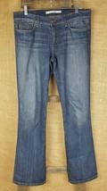 Joe's jeans women's W31 socialite Nora wash blue boot cut #AN660 stretch - $18.76