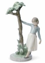Lladro Porcelain Retired 01008445 Tree of reflections (girl) Brand New Box 8445 - $425.43