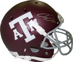 Ryan Tannehill signed Texas A&M Aggies Full Size Replica Schutt Helmet - $205.95