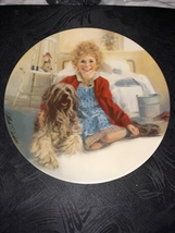 Limited edition annie and sandy knowles fine china - $50.00