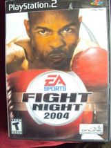 PlayStation2 EA Sports Fight Night 2004 VG Condition, Fast Shipping! - $5.00