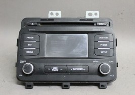2014 2015 KIA OPTIMA AM/FM RADIO CD PLAYER MP3 SIRIUS BLUETOOTH 961602TA... - $84.14