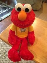 2013 Sesame Street Hasbro Playskool Battery Operated Talking Elmo - $12.19