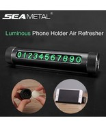 SEAMETAL® Car Phone Number Parking Luminous Phone Holder Air Refresher P... - $26.68