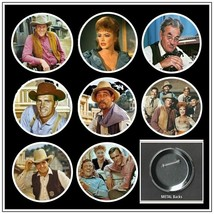 "Gunsmoke - TV Charactors - Eight 2-1/4"" Pinback Buttons Set #02 - $9.95"