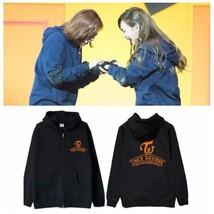 KPOP TWICE Zipper Sweater Twicetagram Sweatershirt LIKEY Pullover Coat Sana - $17.99