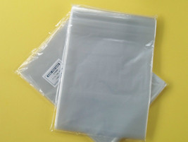 "50  12 x 15  POLY CLEAR  T - SHIRT,  JERSEY  PLASTIC BAGS  2"" BACK FLAP ... - $8.79"