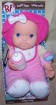 """Goldberger  Baby's First HAPPY BABY 13""""H Soft Baby Doll  New - $12.88"""