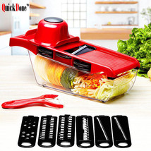 Slicer Kitchen Grater Set Multi Function Vegetable Plastic Easy Use Chop... - €23,70 EUR