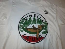 Herren O'Neill Klassisch T-Shirt Logo Surf Skate XL Weiß Hibernation FA7... - £15.38 GBP
