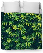Weed Duvet Cover - $127.07 CAD+
