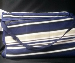 Picnic Time Blanket Mat Outdoor Tote, X-Large, Blue Stripe - €7,83 EUR