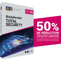 Bitdefender Total Security 2019 15 Devices, 1 Year (Account Activation... - $95.00