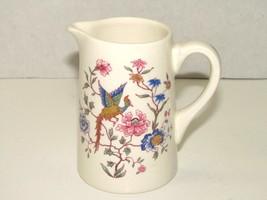Vintage Royal Doulton Furness Bermuda Line Cruise Floral Peacock Ceramic... - $31.68
