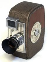 KEYSTONE Capri K-30 Vintage 8mm Film Movie Camera ELGEET f/1.9 12mm lens... - $41.40