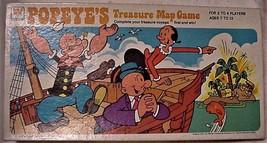 Vintage POPEYE'S TREASURE MAP GAMES Board Game 1977 Whitman - $49.95