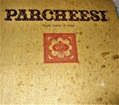 Vintage 1975 PARCHEESI~Royal Game Of India~Board Game  - $9.95