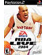 PS2 PLAYSTATION 2 EA SPORTS NBA LIVE 2004 GAME - $3.63