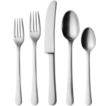 Copenhagen Matte by Georg Jensen Stainless Steel Flatware Set For 4 Serv... - $440.00