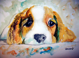 ACEO Dog Art Print -: rdoward fine art - $5.94